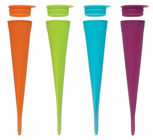 Set of 4 Ice Pop Makers - Click to enlarge