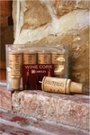 Set of 4 Wine Cork Candles