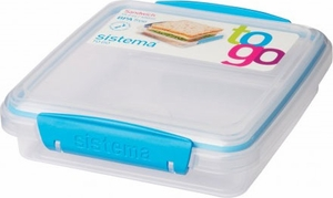 Sistema Sandwich Box To Go - Assorted - Click to enlarge