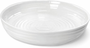 "Sophie Conran for Portmeirion White 11"" Round Roasting Dish - Click to enlarge"