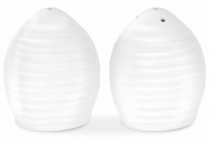 "Sophie Conran for Portmeirion White 2.5"" Salt & Pepper Set - Click to enlarge"