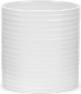 "Sophie Conran for Portmeirion White 7.5"" Oval Utensil Jar - Click to enlarge"