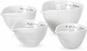 Sophie Conran for Portmeirion White Set of 4 Measuring Cups