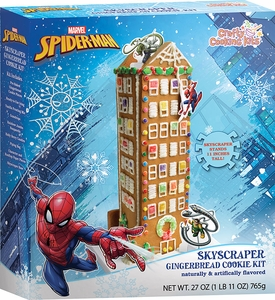 Spiderman Gingerbread Cookie Kit - Click to enlarge