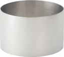 """Stainless Steel 3.5""""  Food Ring"""