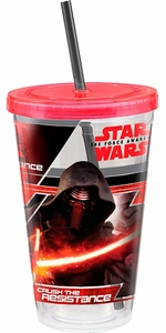 Star Wars The Force Awakens 18 oz Acrylic Cup - Click to enlarge