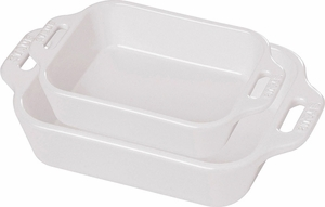 Staub 2 piece Rectangle Baking Dish Set - Click to enlarge