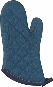 Stone Wash Denim Superior Oven Mitt - Click to enlarge