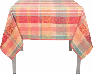 Sunbloom Jacquard Tablecloth - Click to enlarge