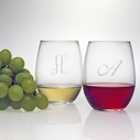 Susquehanna Glass Set of 4 Stemless Glasses
