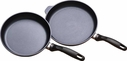 "Swiss Diamond Frying Pan 9.5"" & 11"" Set"