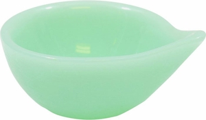 Tablecraft Jadeite Glass Sauce Cup - Click to enlarge
