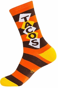 Tacos Crew Socks - Click to enlarge