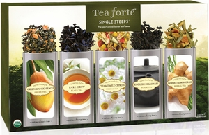 Tea Forte 15 Pouch Classic Tea Sampler - Click to enlarge