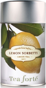Tea Forte Lemon Sorbetti Loose Tea Canister - Click to enlarge