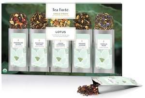 Tea Forte 15 Pouch Lotus Collection Sampler - Click to enlarge