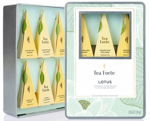 Tea Forte Lotus Collection Sampler - Click to enlarge