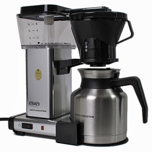 Technivorm Coffee Maker Manual : Technivorm Moccamaster Polished Thermo Coffee Maker KBTS 741 79212