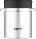 Thermos 12 oz Stainless Steel Food Jar with Microwave Container