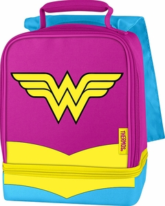 Thermos Wonder Woman Cape Lunch Bag - Click to enlarge