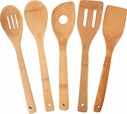 Totally Bamboo  5 Piece Bamboo Utensil Set