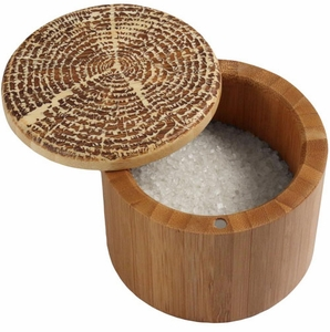 Totally Bamboo Tree of Life Salt Box - Click to enlarge
