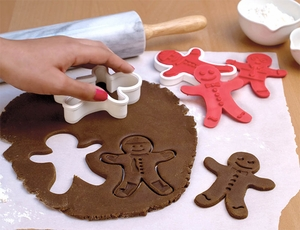 Tovolo Ginger Boys Cookie Cutters - Click to enlarge