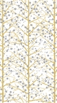 Trees & Snow White Paper Guest Towels