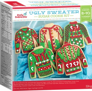 Ugly Sweater Cookie Kit - Click to enlarge