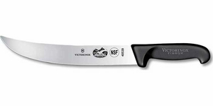 "Victorinox Fibrox Pro 10"" Cimeter Knife - Click to enlarge"