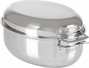 Viking 3-Ply 8.5 Quart Oval Roaster with Lid