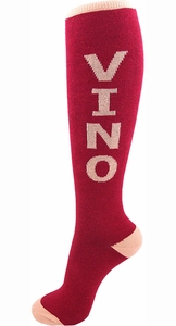 Vino Knee Socks - Click to enlarge