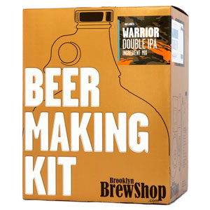 Brooklyn Brew Shop Warrior Double IPA Beer Making Kit - Click to enlarge