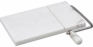 White Marble Cheese Slicer - Click to enlarge