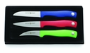 Wusthof 3 Piece Colored Paring Knife Set
