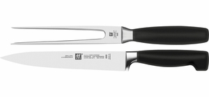 Zwilling J.A. Henckels Four Star 2 Piece Carving Set - Click to enlarge