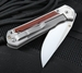 Chris Reeve Large Sebenza 21 Cocobolo Wood Inlay Folding Knife