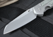 Chris Reeve Large Sebenza 21 Insingo Blade - Micarta Inlay