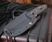 "Exclusive ""Memphis Toothpick"" Crawford Knives Fixed Blade Knife"