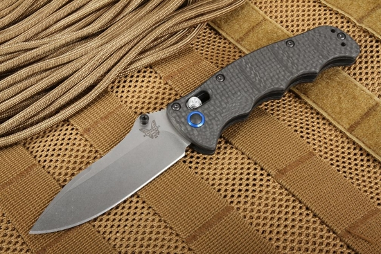 Benchmade 484-1 Carbon Fiber - Nakamura Design - Axis Lock with S90V Steel