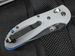Benchmade 551BK-1 Griptilian Gray G-10 & Black Blade Folding Knife
