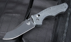 Benchmade 810BK Contego - Axis Lock Folding Knife with Black Coated M4 Steel