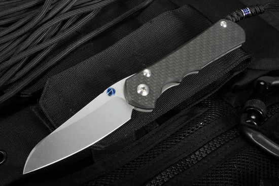 Chris Reeve Knives Carbon Fiber Large Inkosi with Insingo Blade