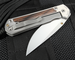 Chris Reeve Large Sebenza 21 Bog Oak Wood Inlay
