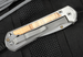 Chris Reeve Large Sebenza 21 Spalted Beech Inlay with S35VN Steel