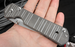 Chris Reeve Large Sebenza 21 CGG Think Twice Code Folding Knife