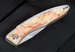 Chris Reeve Mnandi Box Elder Burl Folding Knife