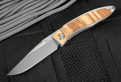 Chris Reeve Mnandi Spalted Beech Folding Knife