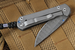 Chris Reeve Small Carbon Fiber and Ladder Damascus Sebenza