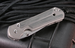 Chris Reeve Small Sebenza 21 Micarta Inlay Folding Knife